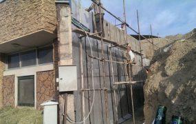 نصب ایزوگام بر روی دیوار ساختمان ها
